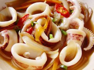 軟體海鮮的食譜