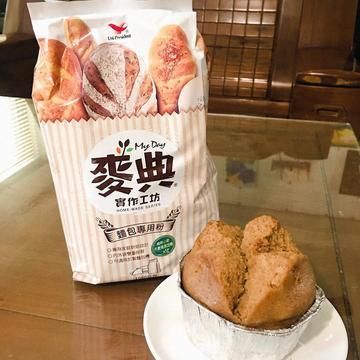 小魚跟著做了【麥典實作工坊】黑糖發糕(酵母粉版)