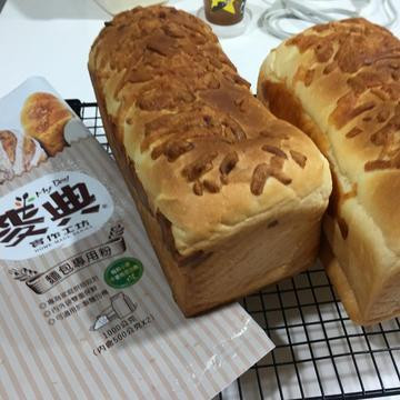 Jin Jiu跟著做了起司火腿吐司【麥典實作工坊麵包專用粉】