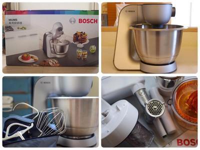 Bosch精湛萬用廚師機初體驗~輕與靜的生活美學