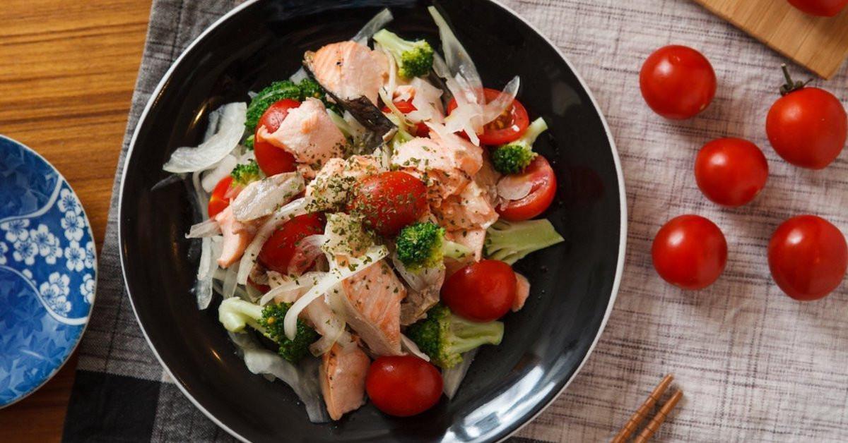 深海魚好吃又營養,還能做沙拉啊!
