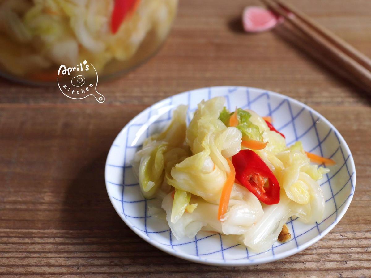自煮防疫,來試試看經典醃漬配菜吧!
