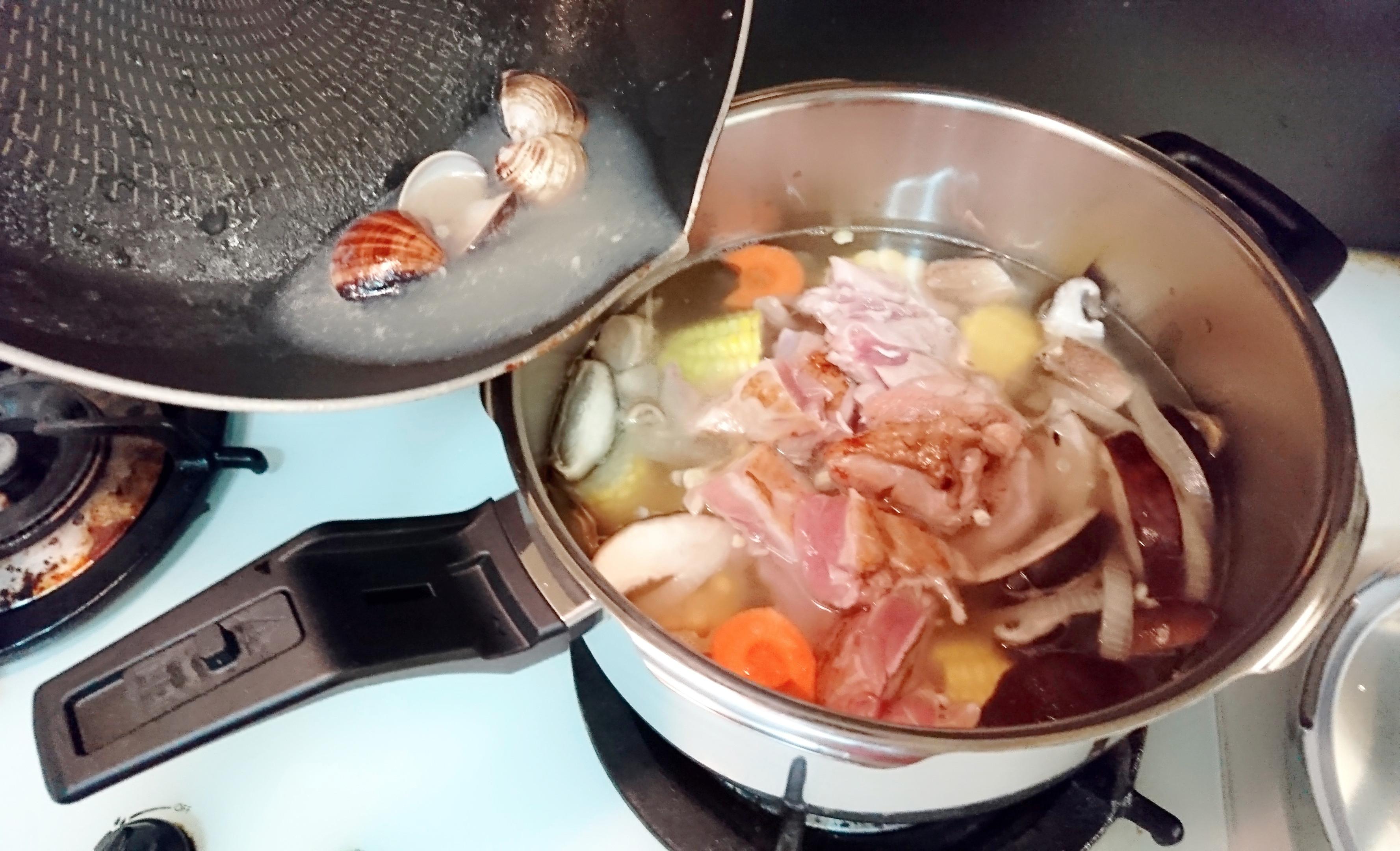 元氣雞湯 - WMF PRO 快力鍋的第 5 張圖片