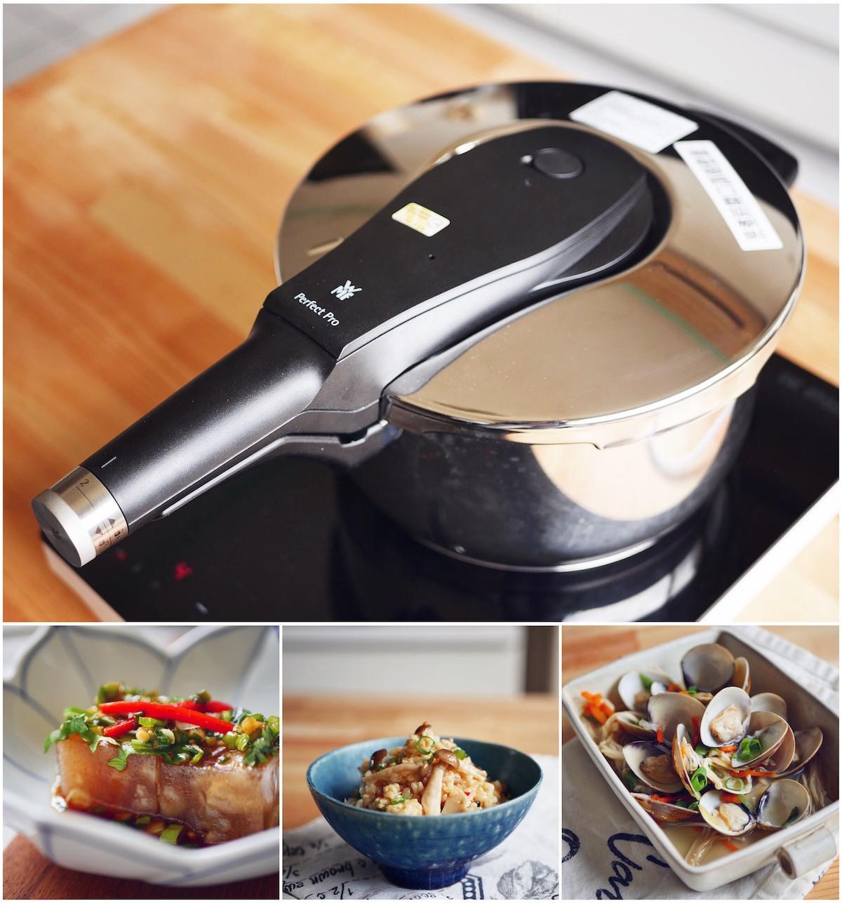 一口氣完成 2~3 道菜的感動--WMF PRO 快力鍋的第 1 張圖片