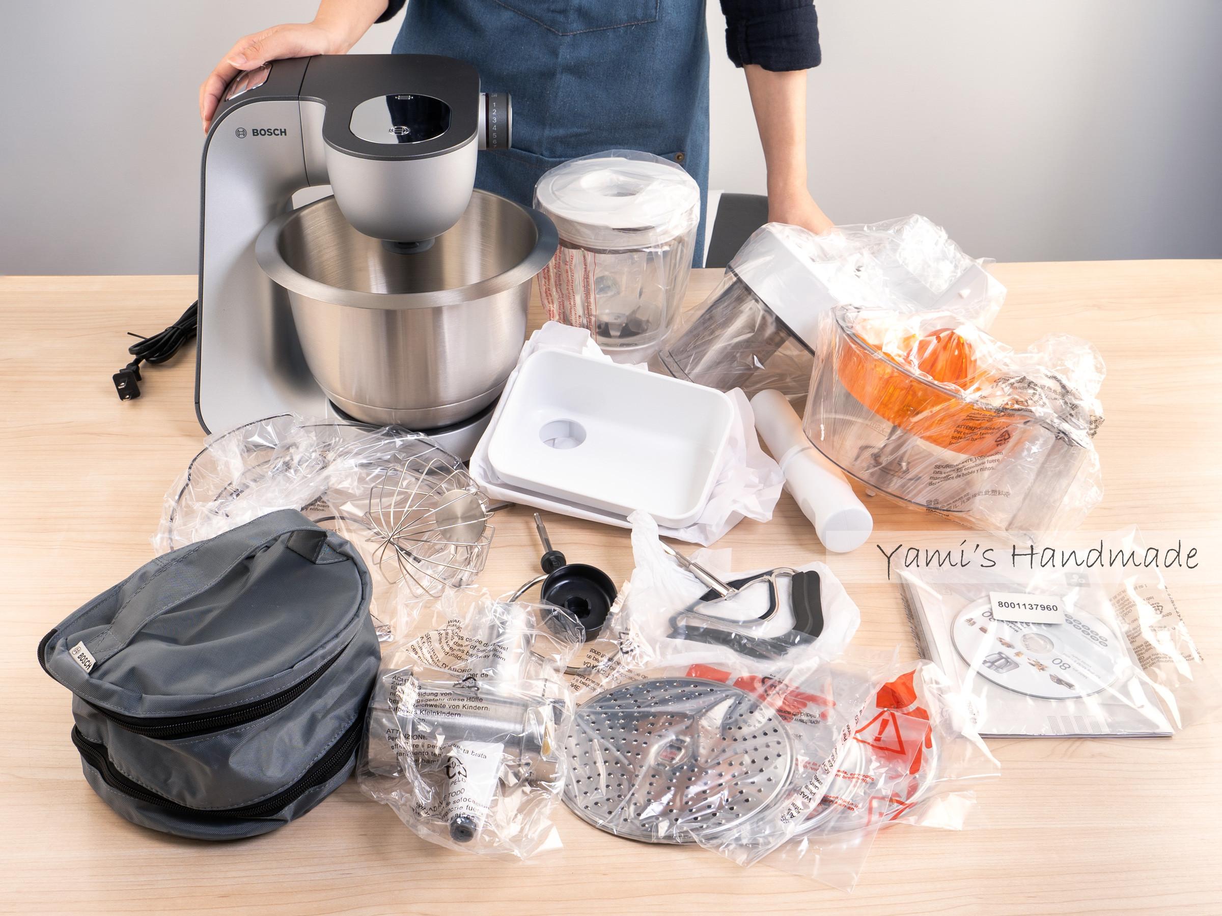 廚房內的夢幻逸品-Bosch精湛萬用廚師機的第 2 張圖片