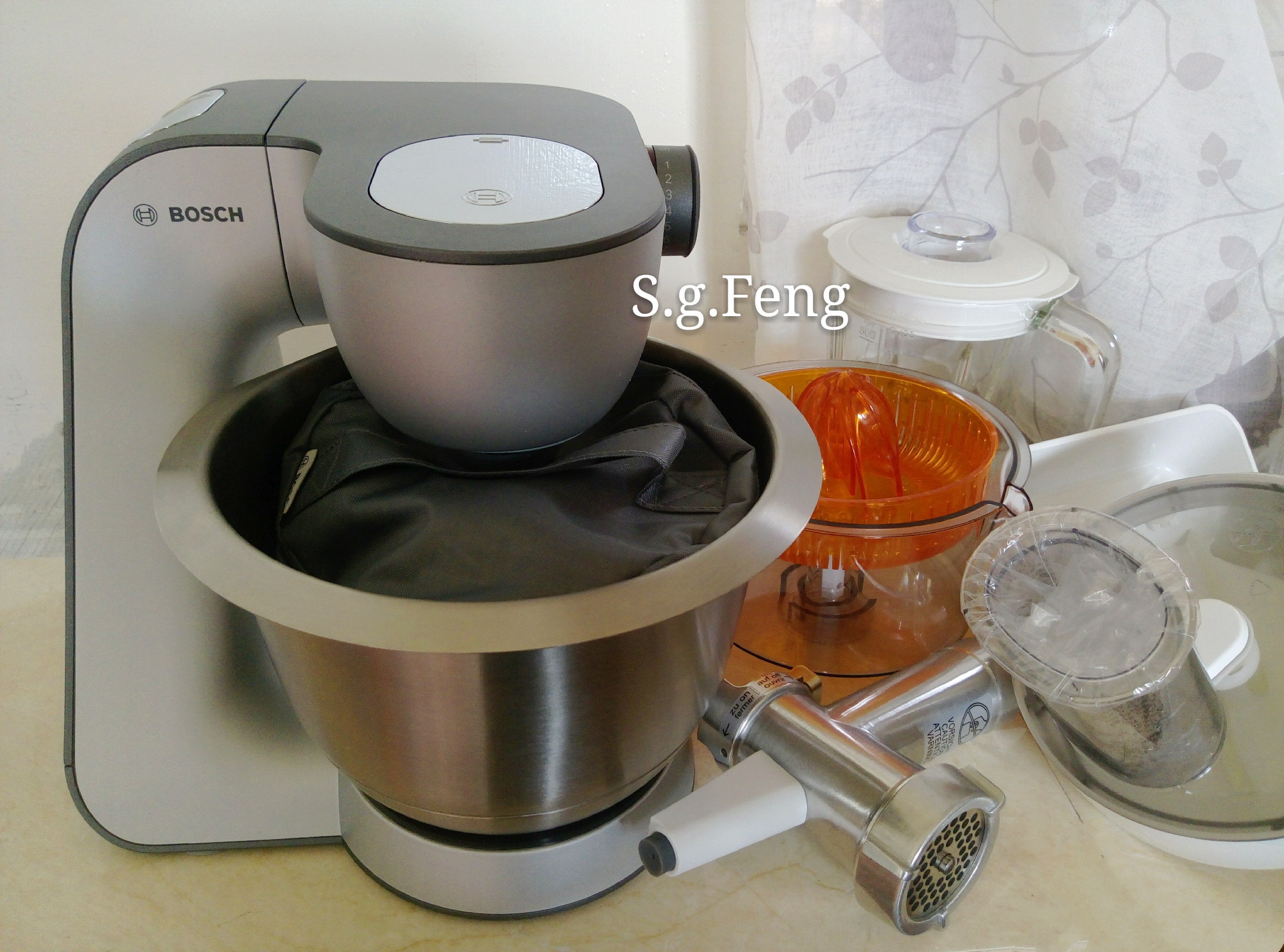Bosch精湛萬用廚師機:完美攪打/省時省力/一機抵萬機的第 3 張圖片