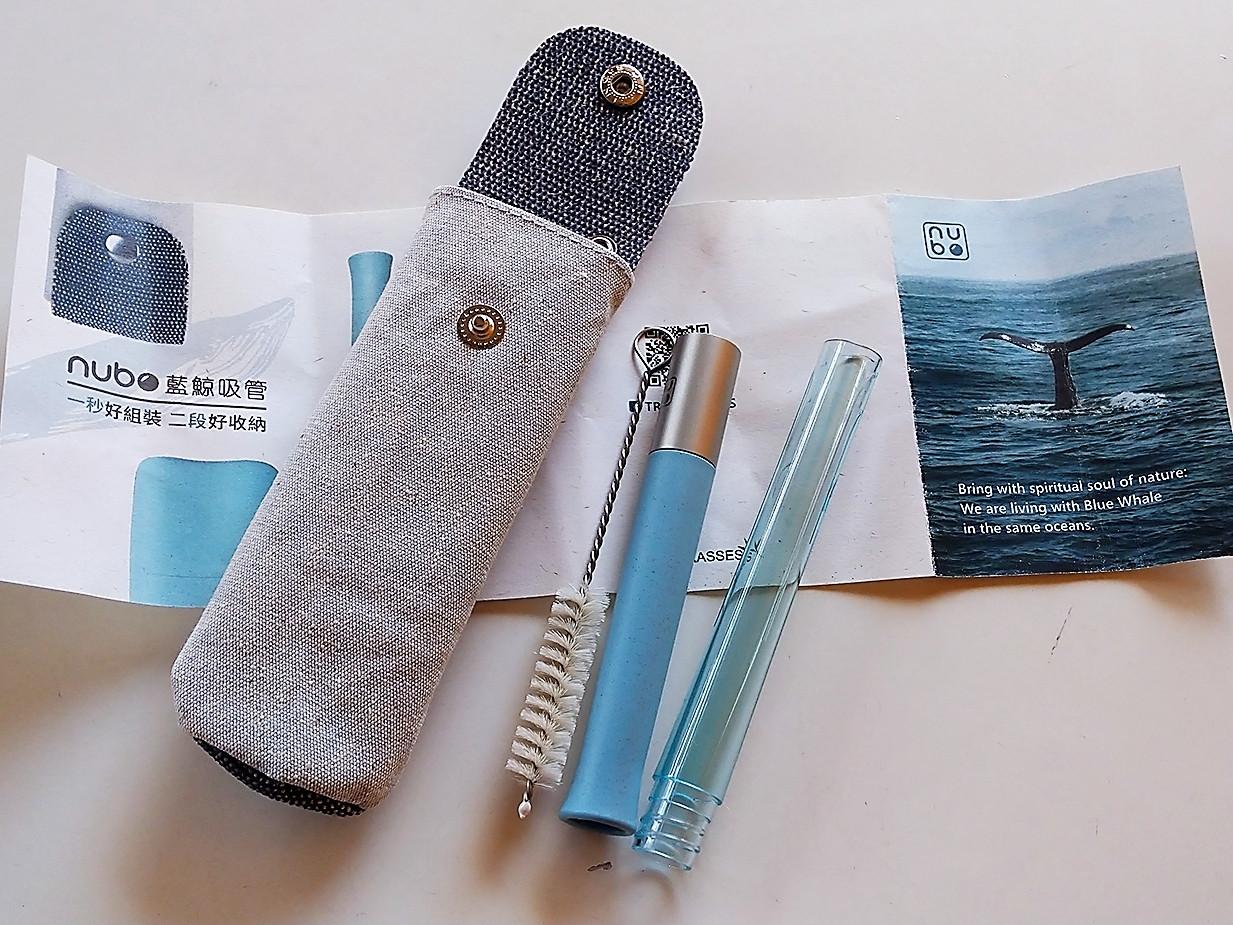 外出好用環保小幫手! nubo 藍鯨吸管 ~的第 1 張圖片
