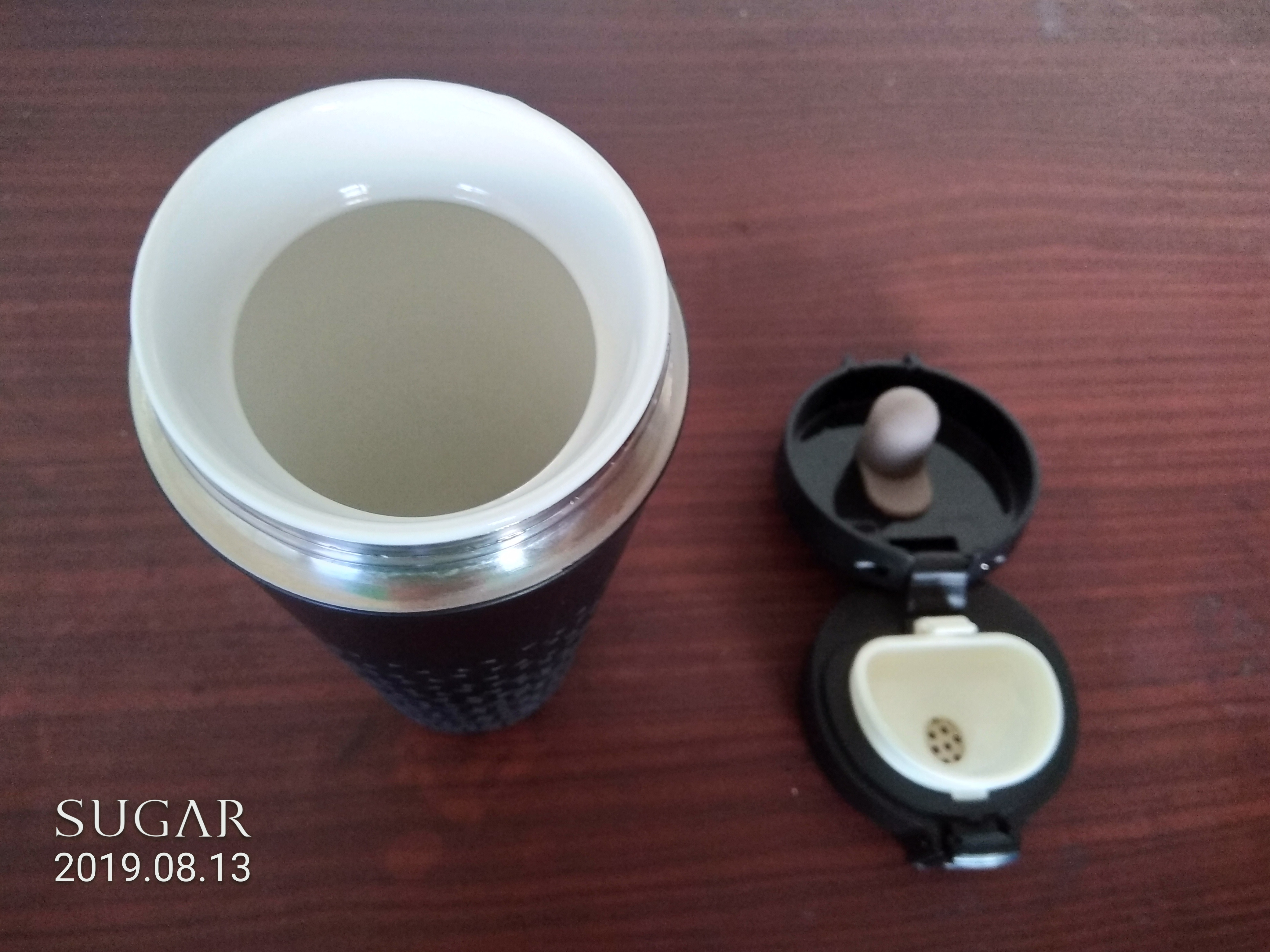SWANZ 陶瓷保溫彈跳杯豐富您的水份,常喝水最健康!的第 5 張圖片