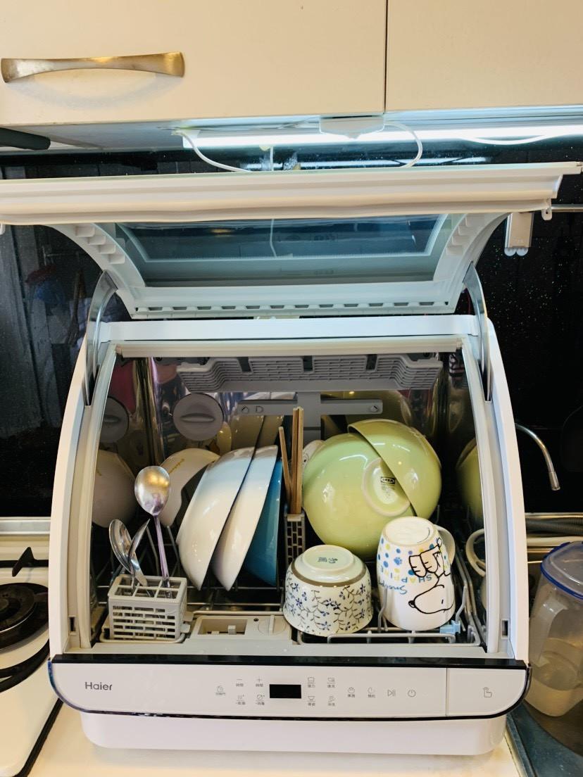 【海爾Haier】小海貝全自動洗碗機。開箱文!的第 10 張圖片