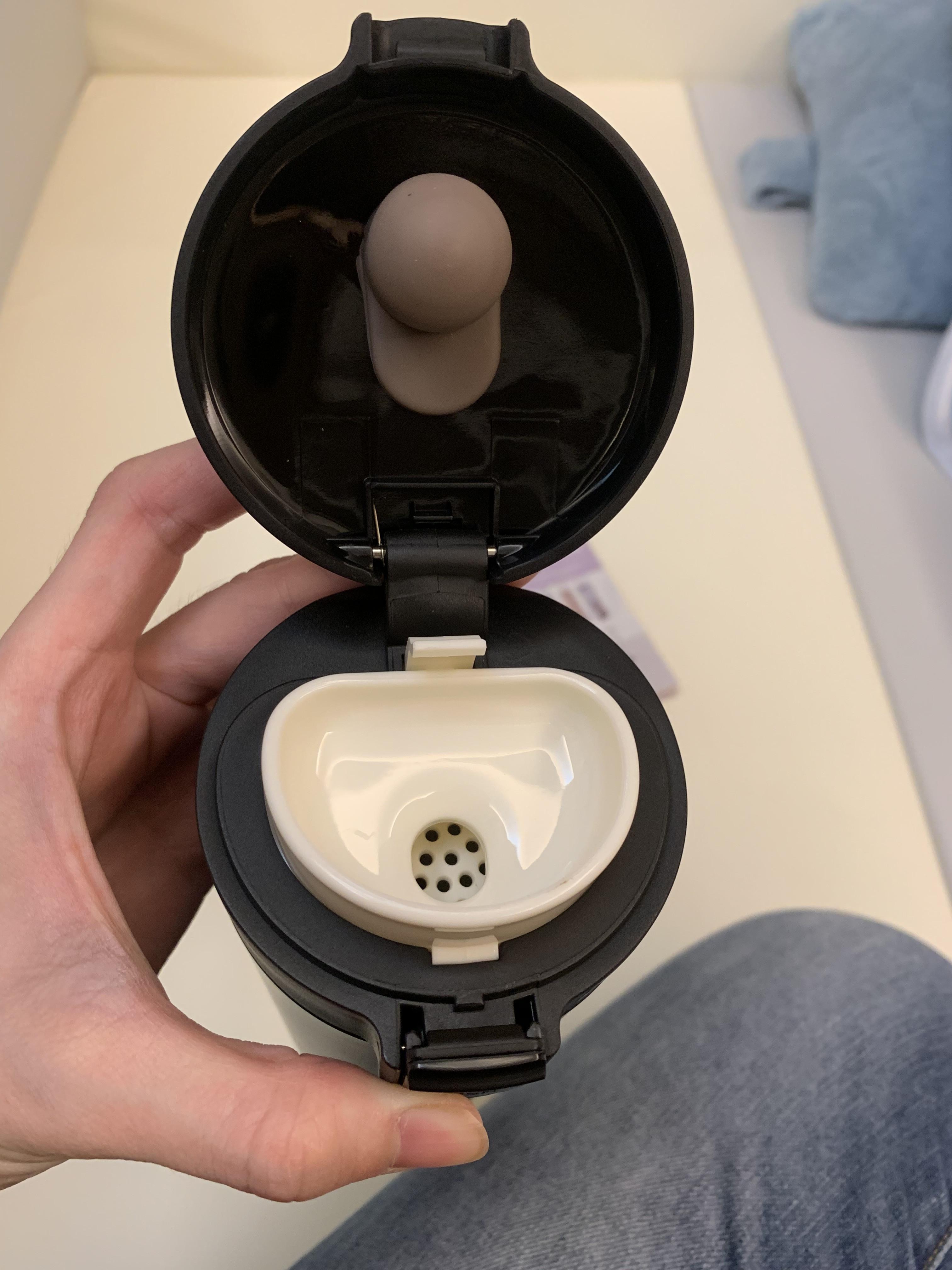 SWANZ 陶瓷保溫彈跳杯--好好清洗不卡垢的第 3 張圖片
