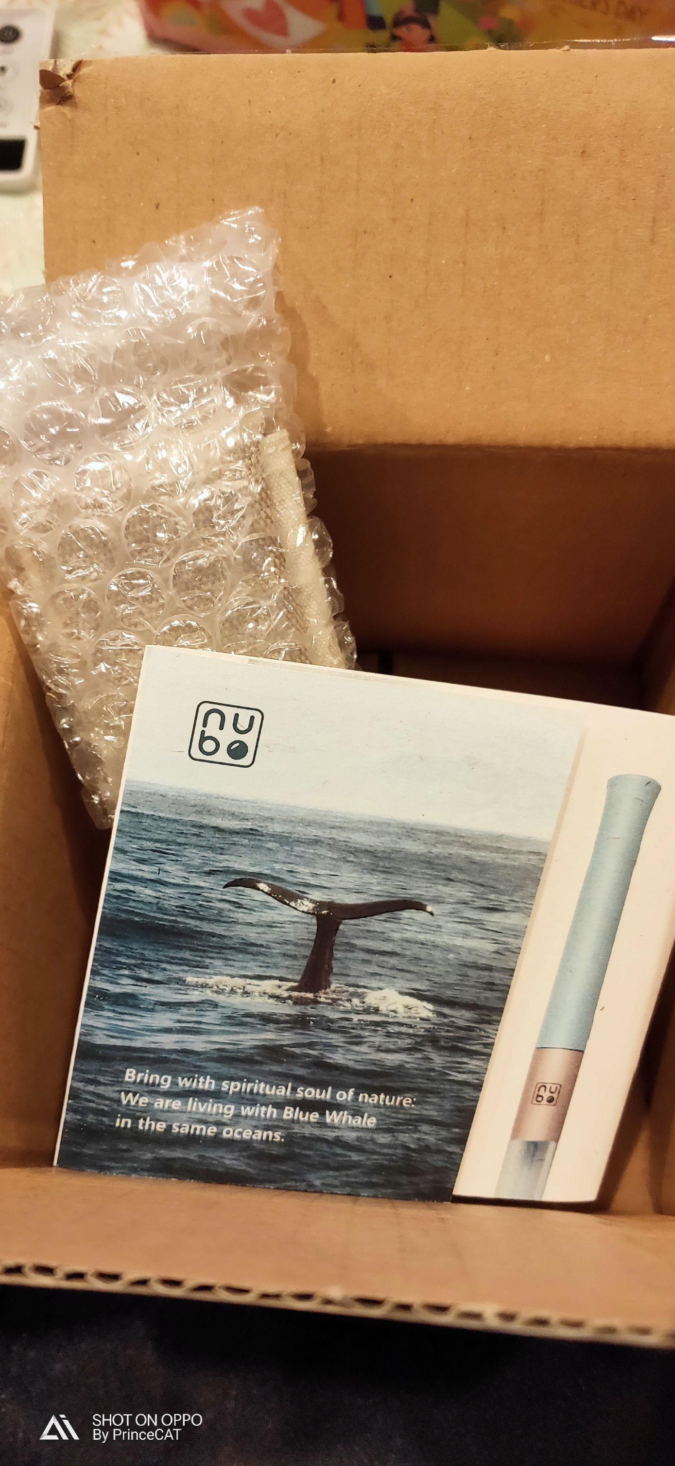 nubo 藍鯨吸管 開箱文的第 1 張圖片