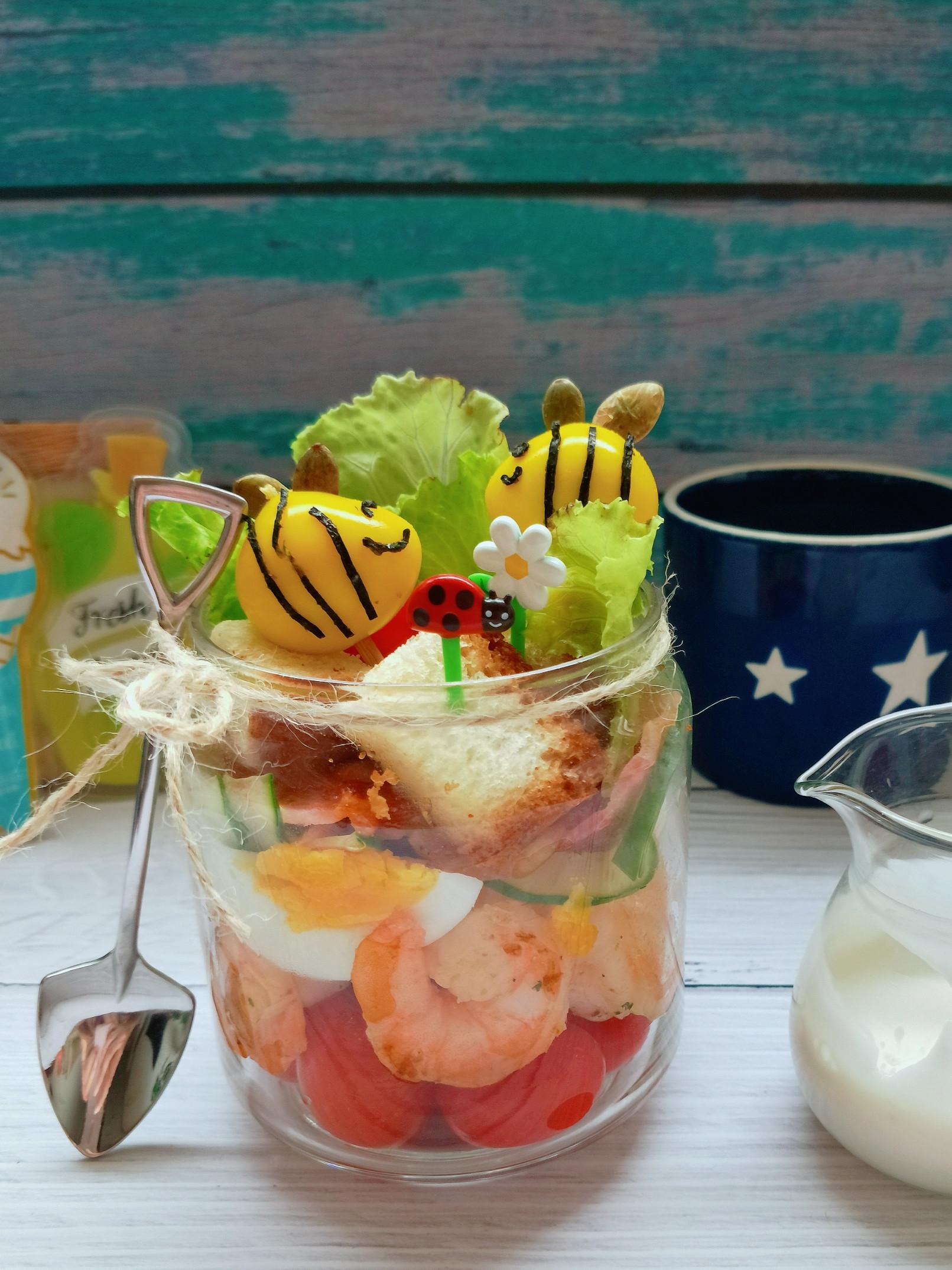 一週風味早餐就醬拌【桂冠風味沙拉開箱文】的第 1 張圖片