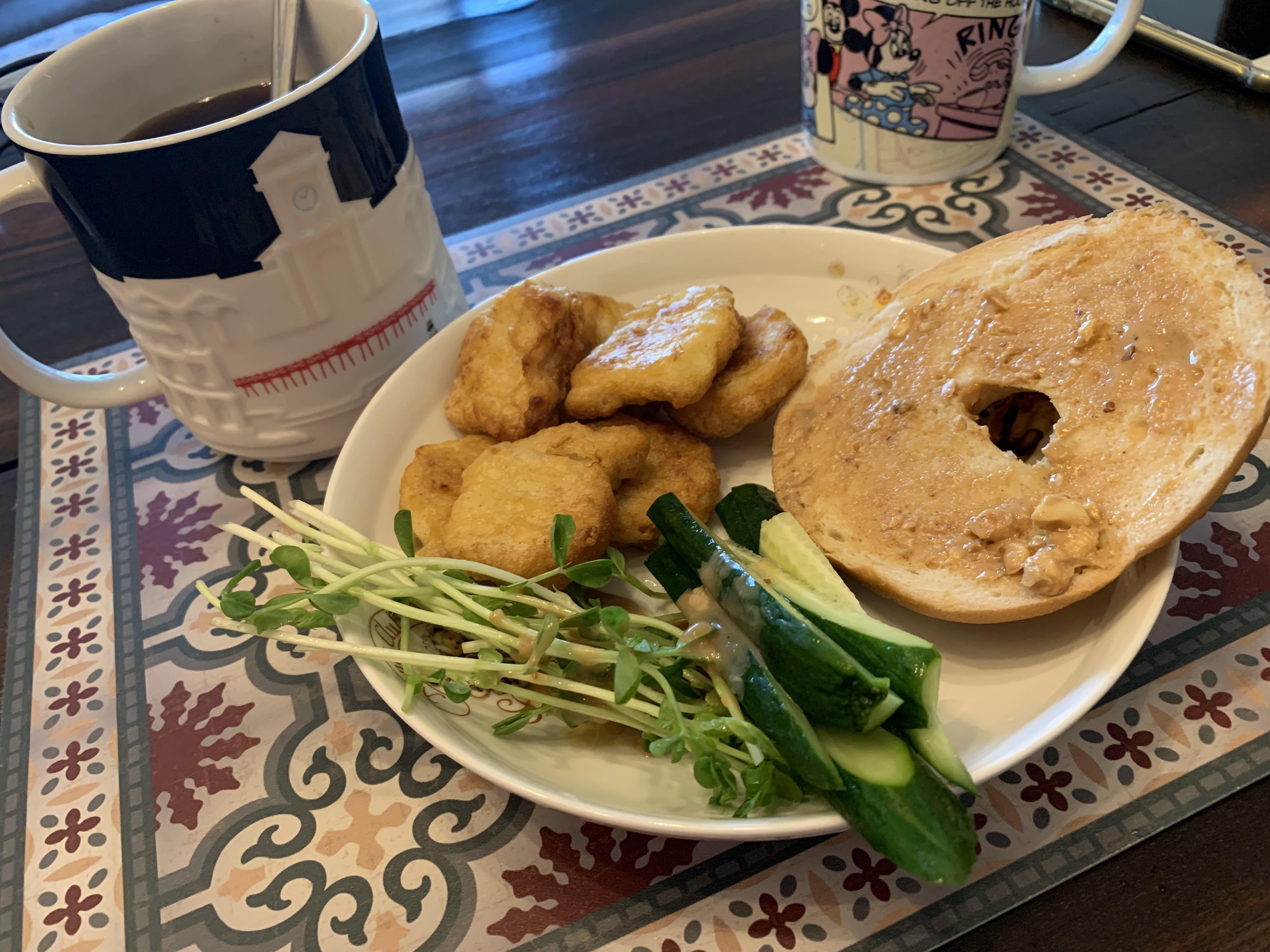 【桂冠風味沙拉】塑身低脂低卡低熱量-雞胸肉佐杏鮑菇溫沙拉的第 5 張圖片