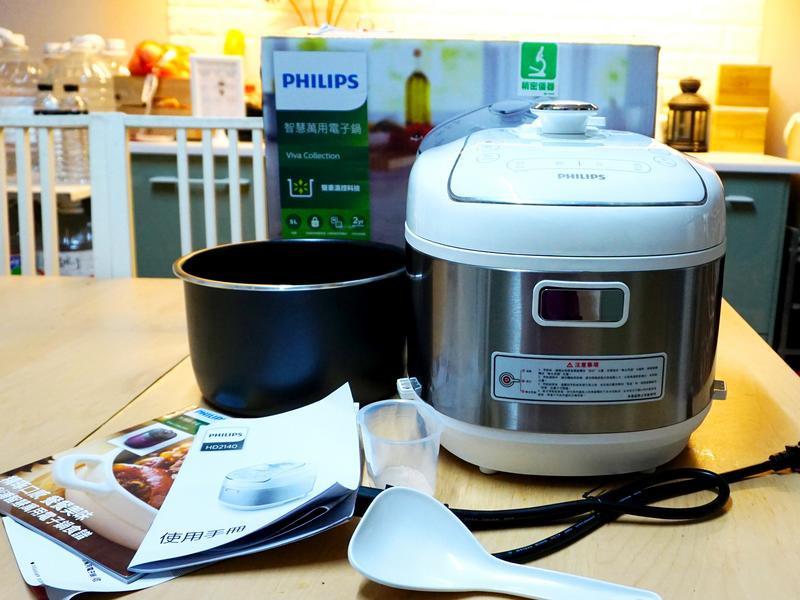 飛利浦智慧萬用電子鍋~小萬在家營養到家~廚房好幫手的第 1 張圖片