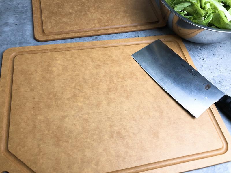廚房必備~輕巧好用易清潔又不發霉的~品幸福 木纖維砧板的第 3 張圖片