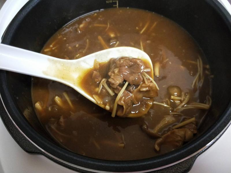飛利浦智慧萬用電子鍋之養生菇菇咖哩牛肉的第 20 張圖片