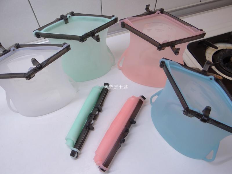 減塑生活新運動,不佔空間好收納-仁舟淨塑矽密袋的第 3 張圖片