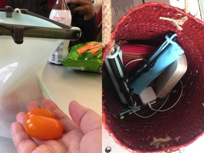 減塑生活新運動,不佔空間好收納-仁舟淨塑矽密袋的第 7 張圖片