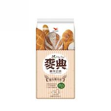 統一麥典實作工坊麵包專用粉 1KG