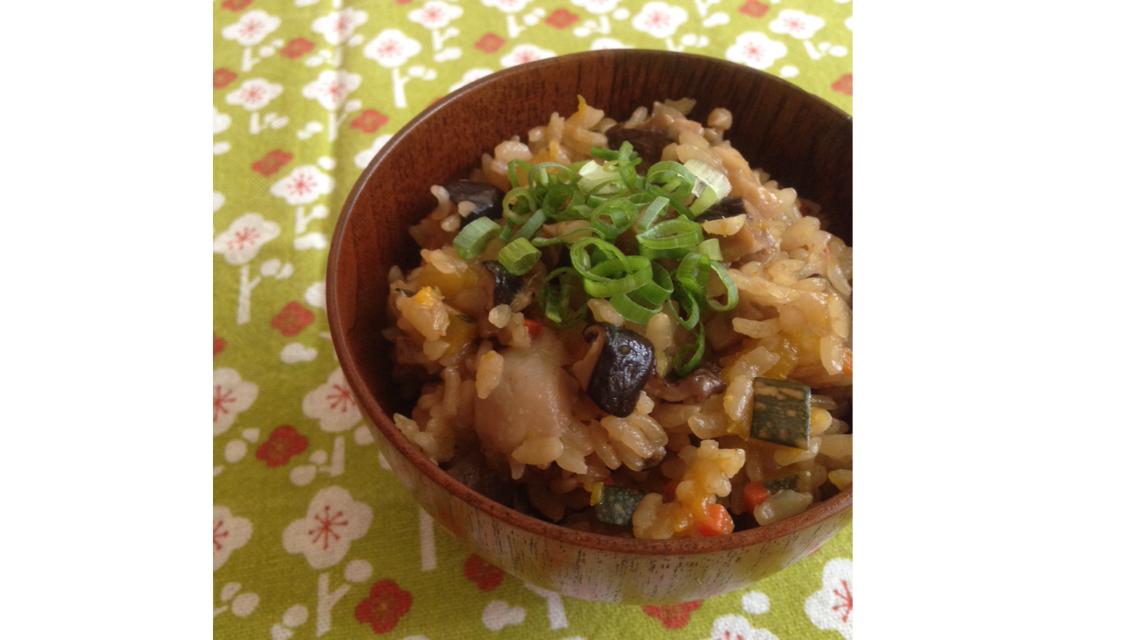 KURI's│南瓜鮮菇炊飯