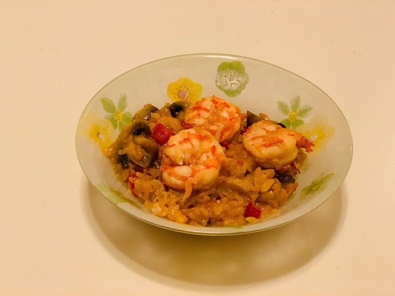 蕃茄起司海鮮燉飯