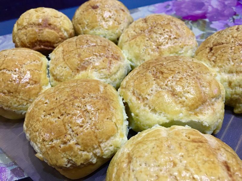湯種款波蘿小麵包