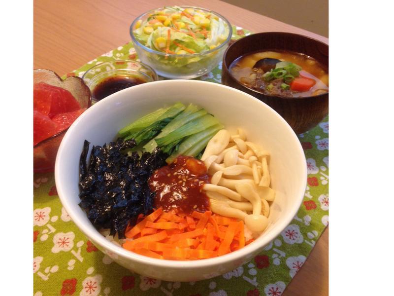 KURI's│韓式蔬菜拌飯