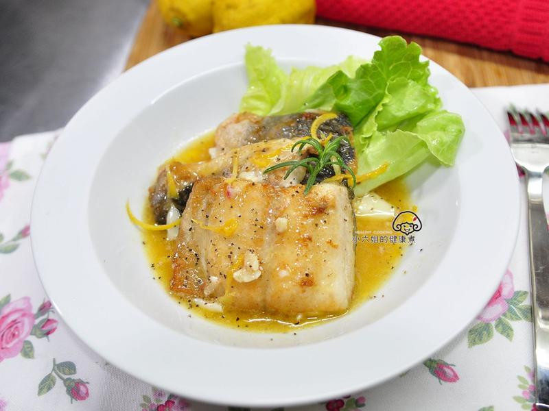 檸檬奶油魚排