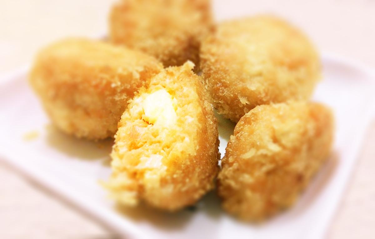 鮭魚豆腐起司丸