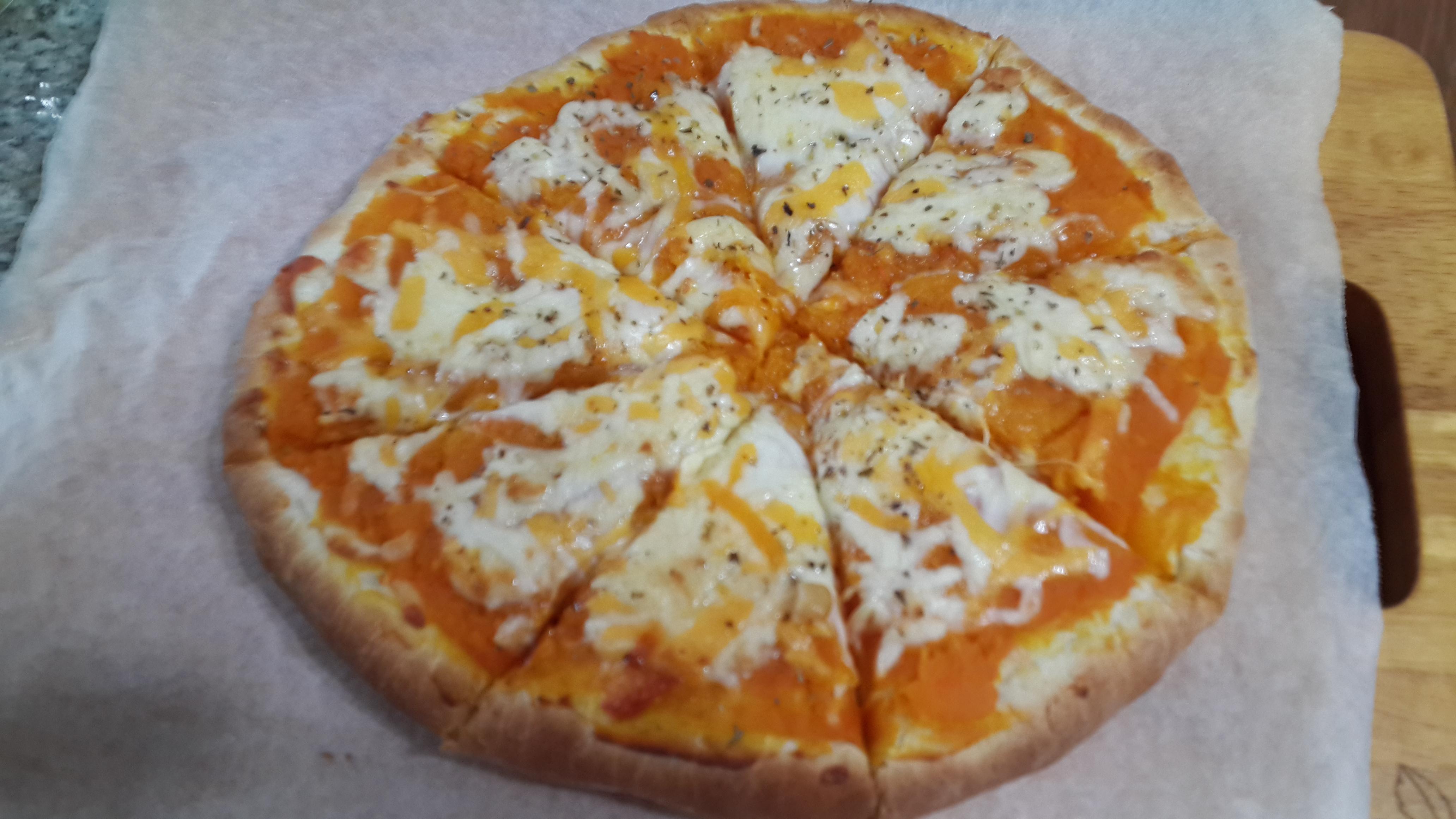 南瓜起司披薩
