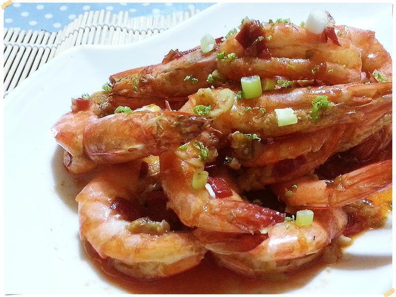 泰式檸檬蝦