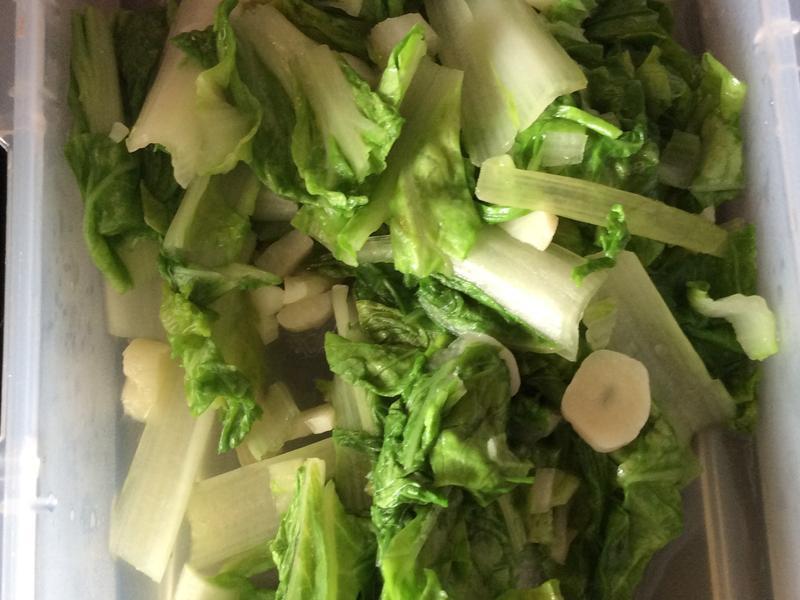 翡翠炒白菜