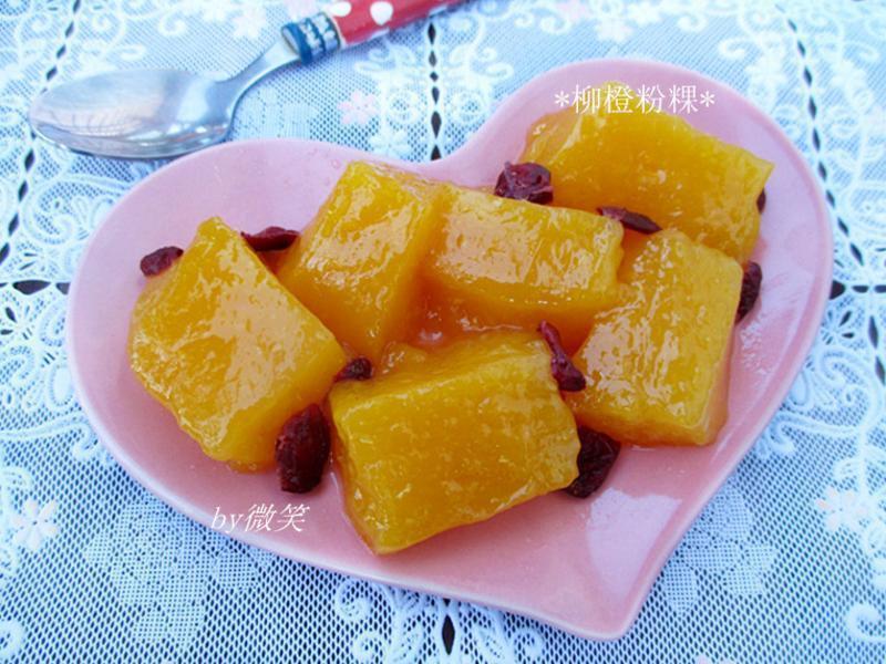 清涼軟Q~ 柳橙粉粿