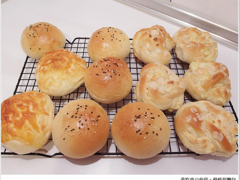優格甜麵包