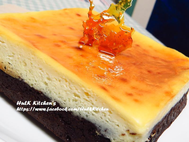 布朗尼乳酪雙層蛋糕