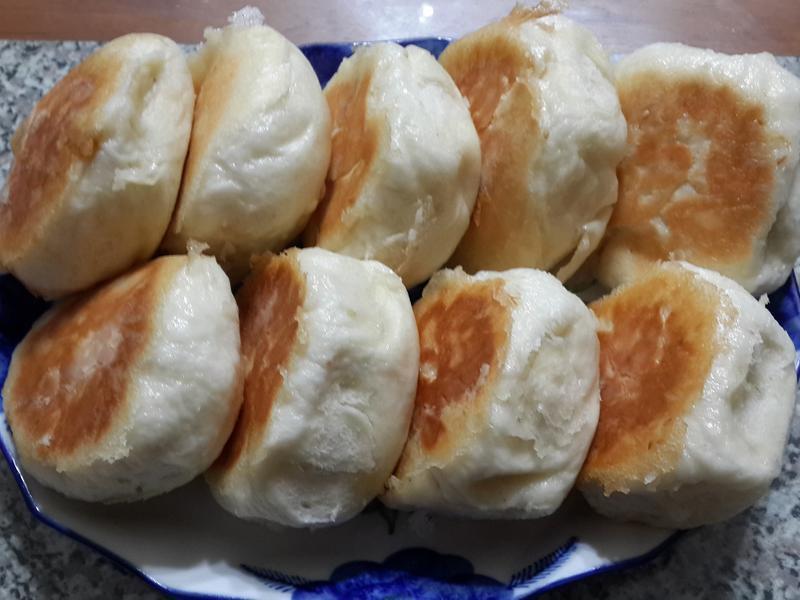 胡瓜豬肉水煎包~(國際牌2000T)