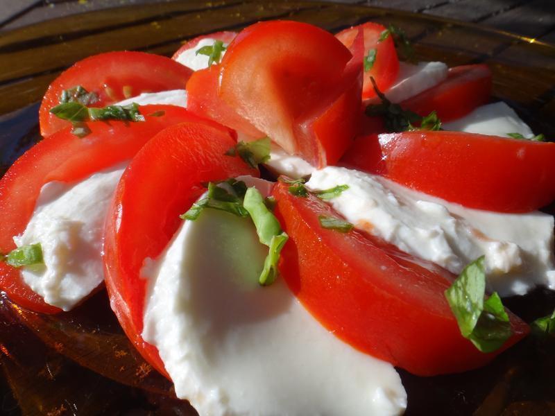 義式蕃茄Mozzarella起司沙拉