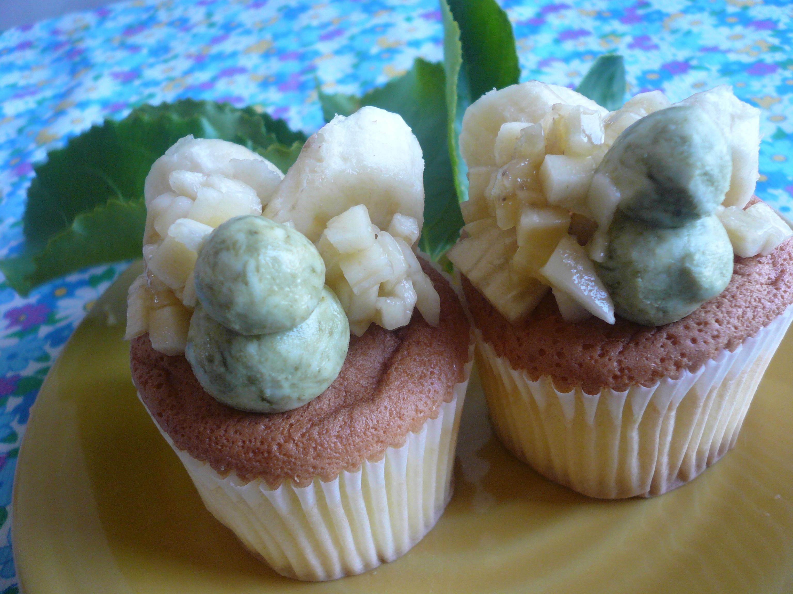 熱帶夢幻杯子蛋糕-小七夏日輕食尚