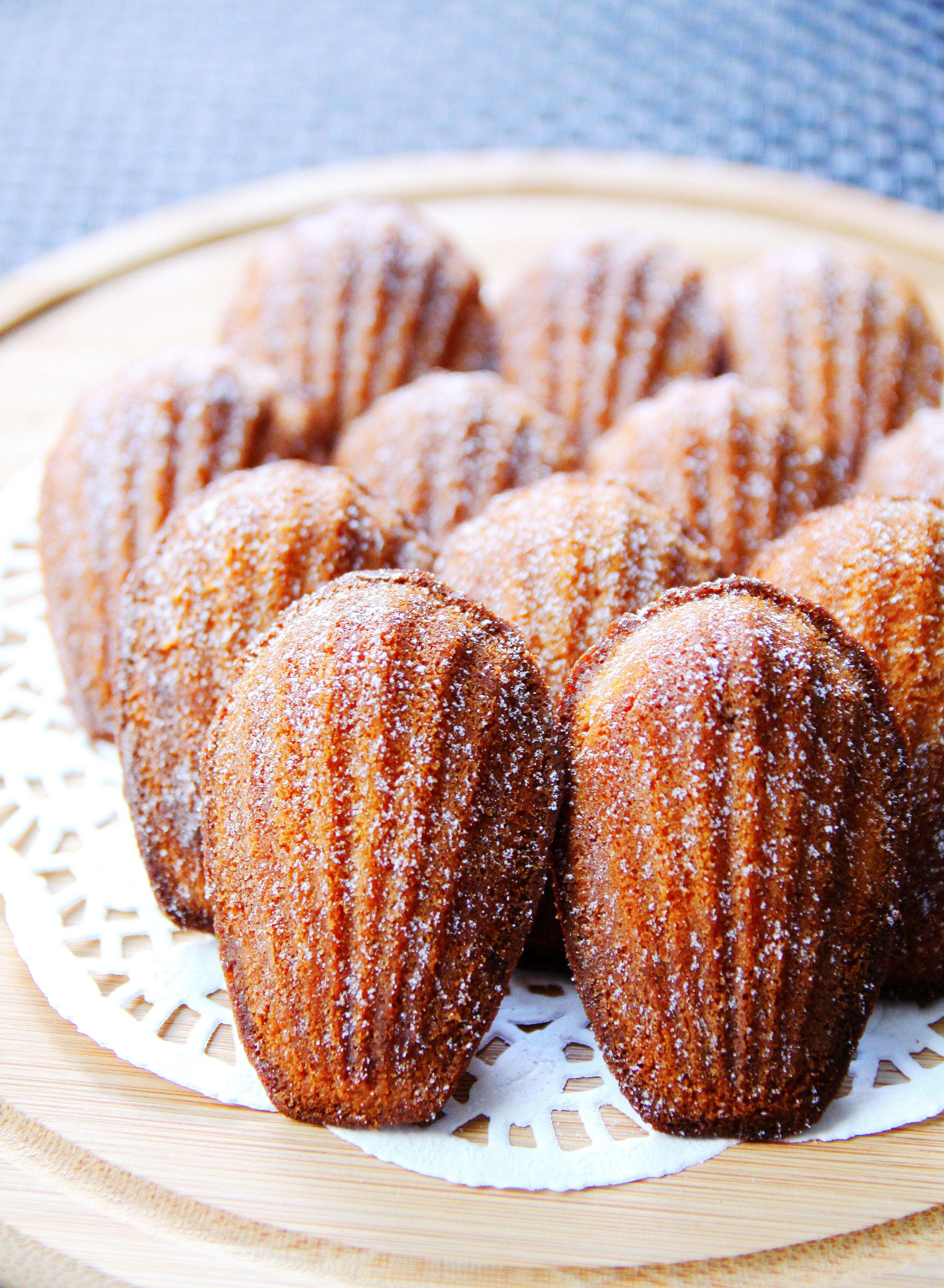 瑪德蓮蛋糕.香橙蜂蜜味