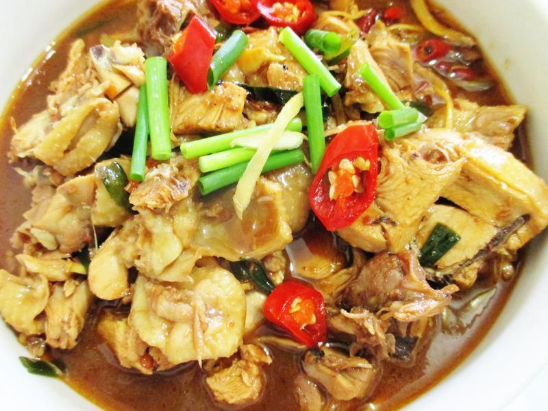 台式紅燒椒麻雞