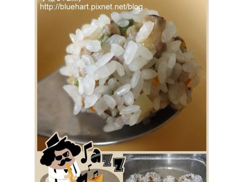 『嬰幼兒食譜』電鍋料理-珍珠丸子