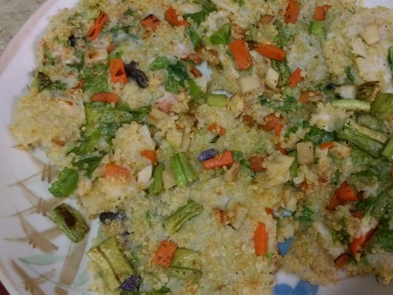 (全素)藜麥鮮蔬煎餅