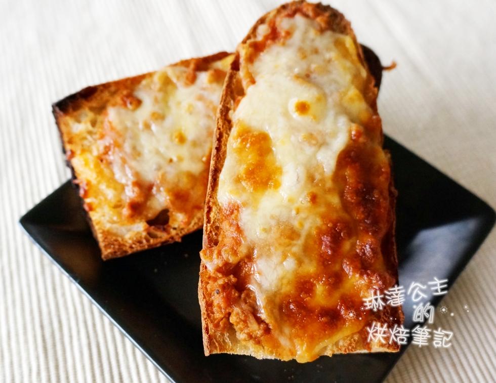 番茄肉醬起司麵包