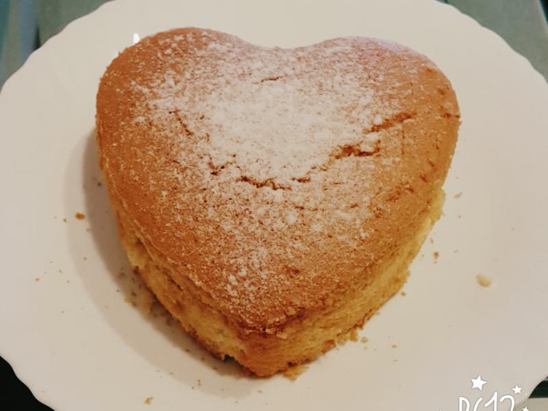 簡單好吃☆海綿蛋糕(6吋)