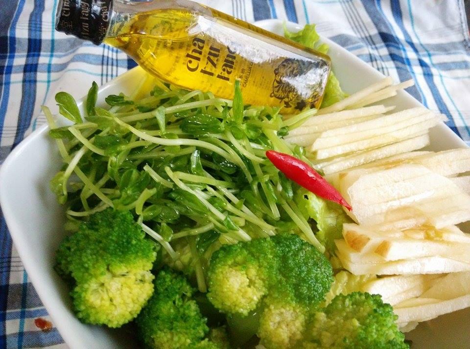 綠光森林沙拉【自然好油x茶籽堂】