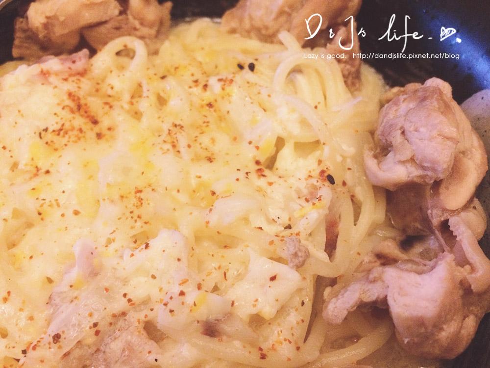 香濃奶油雞肉義大利麵