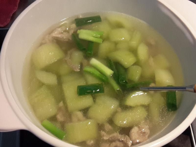 黃瓜肉羹湯