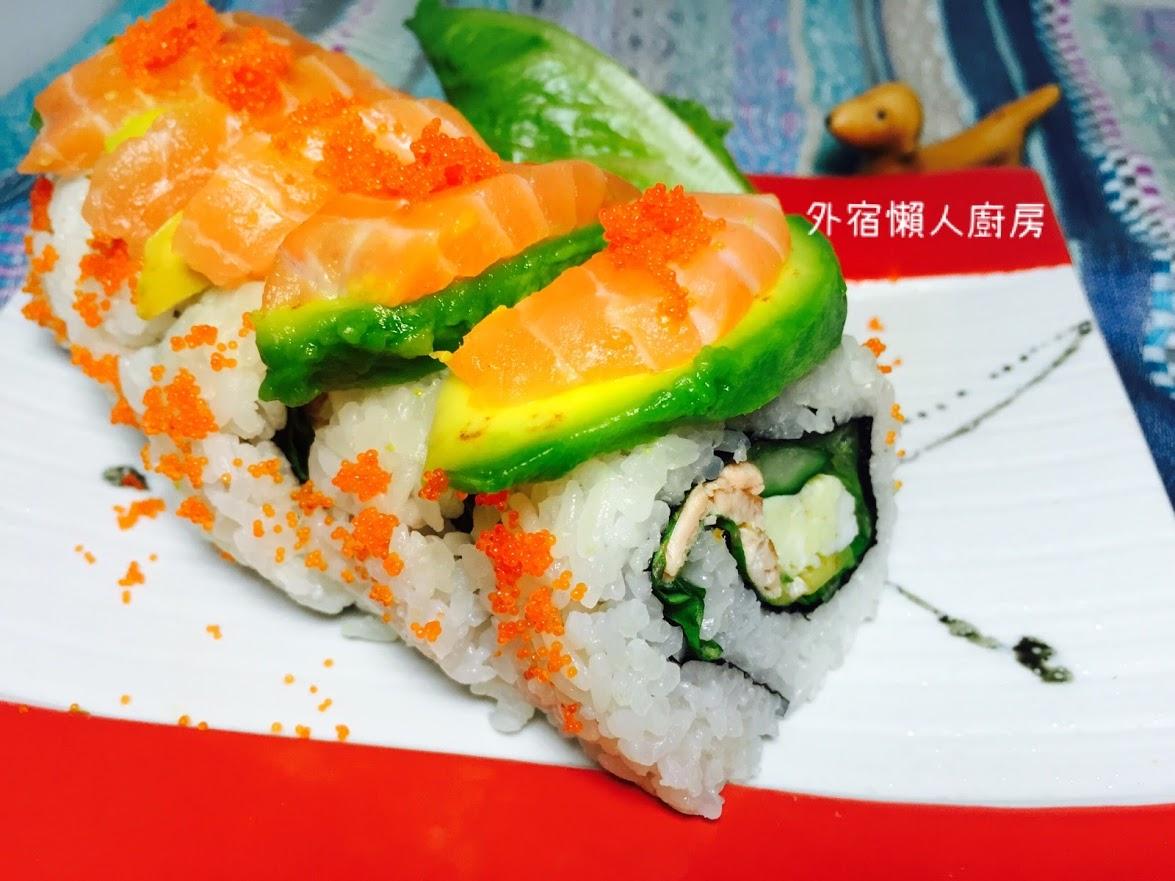 鮭魚酪梨加州捲