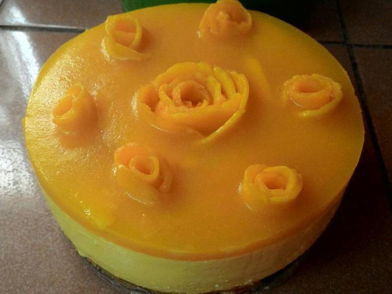 芒果乳酪慕斯(8吋)