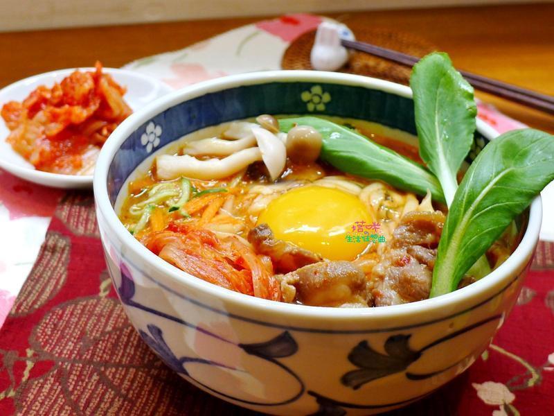 韓式泡菜燒肉拉麵